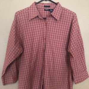 Adorable 3/4 Length Button Up Shirt